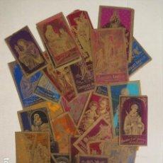 Postales: LOTE 30 ESTAMPAS ANTIGUAS CELULOIDE -PUBLICIDAD CHOCOLATES -VER FOTOS-(V-10.158). Lote 81377328