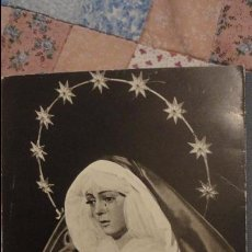 Postales: SOLEMNE QUINARIO.SEPTENARIO DOLOROSO.ESPERRANZA MACARENA.SEVILLA.1975. Lote 81949488