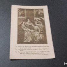 Postales: POSTAL RELIGIOSA - NO ESCRITA NI CIRCULADA . Lote 82034024