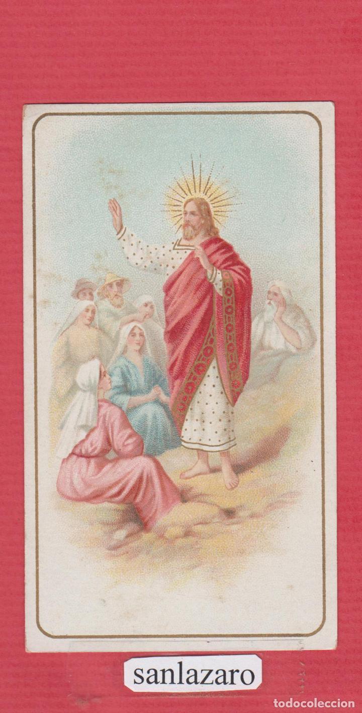 estampa religiosa a color de jesus predicador - Comprar Postales ...