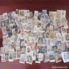 Postales: LOTE ESTAMPAS RELIGIOSAS, RECORDATORIOS, VIRGEN, RELIGION. Lote 82779140