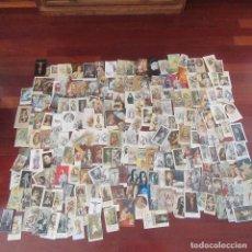 Postales: LOTE ESTAMPAS RELIGIOSAS, RECORDATORIOS, VIRGEN, RELIGION. Lote 82779224