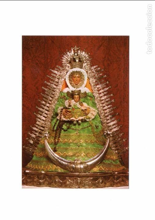 POSTAL POSTCARD POST CARD VIRGEN VIRGIN LORA DEL RIO (SEVILLA) SPAIN MARIA SANTISIMA DE SATEFILLA VE (Postales - Postales Temáticas - Religiosas y Recordatorios)