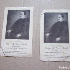 Postales: ENRIQUE DE OSSÓ Y CERVELLÓ. Lote 83490512