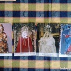 Postales: 34 POSTALES DE VIRGENES (A 0,13 LA UNIDAD). Lote 83605060