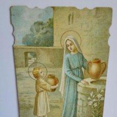 Postales: ANTIGUA ESTAMPA RELIGIOSA TROQUELADA, PRINCIPIO S.XX. Lote 84099988