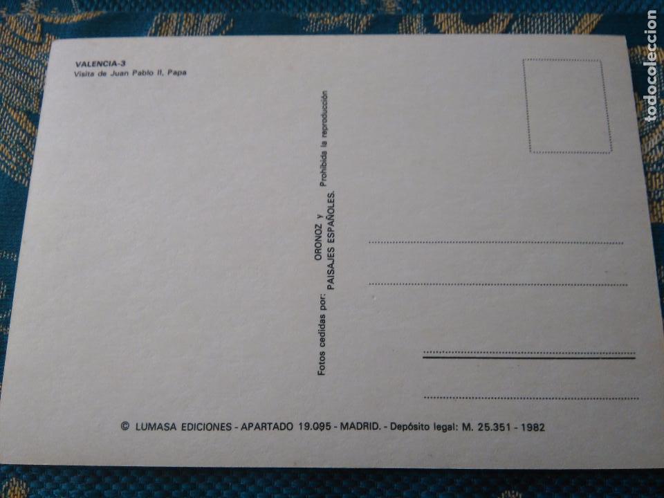 Postales: POSTAL SEMANA SANTA - VIRGEN DE LOS DESAMPARADOS DE VALENCIA VISITA DEL PAPA JUAN PABLO II - Foto 2 - 84166944