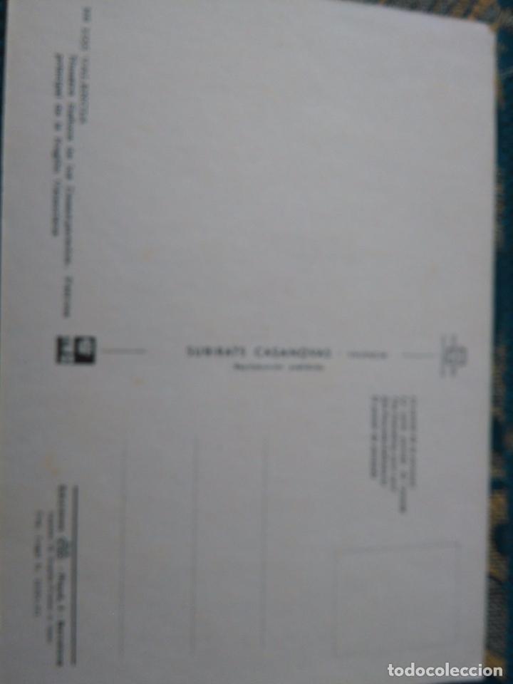 Postales: POSTAL SEMANA SANTA - VIRGEN DE LOS DESAMPARADOS DE VALENCIA RECUERDO - Foto 2 - 84167040
