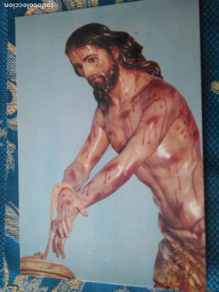 POSTAL SEMANA SANTA - CRISTO DE LA COLUMNA SALZILLO , JUMILLA MURCIA (Postales - Postales Temáticas - Religiosas y Recordatorios)