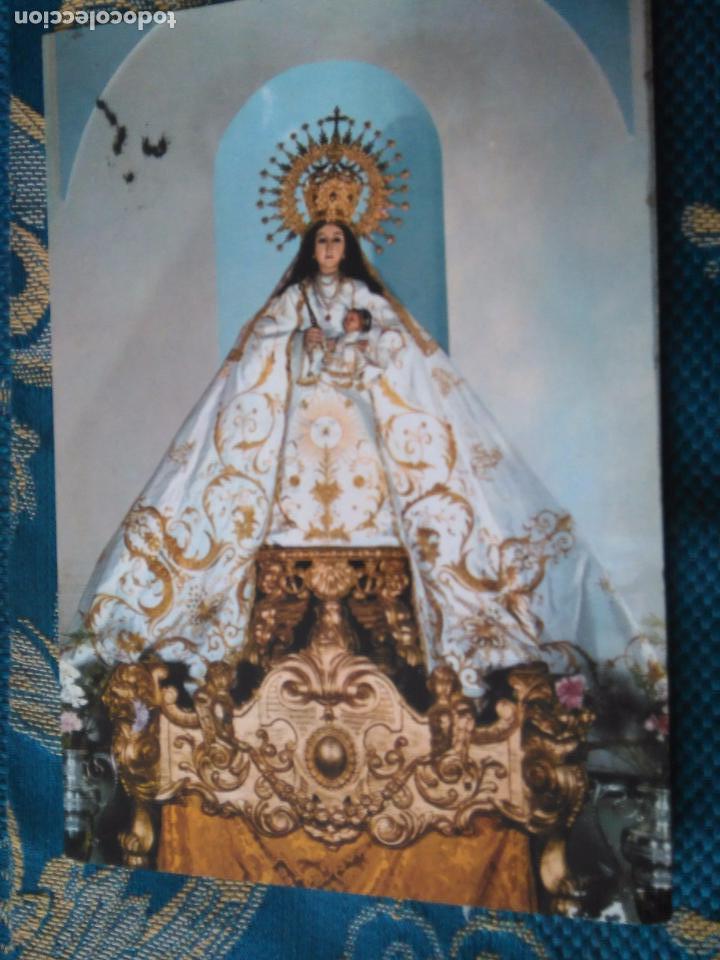 POSTAL SEMANA SANTA - VILLA GARROVILLA VIRGEN DE LA CARIDAD BADAJOZ (Postales - Postales Temáticas - Religiosas y Recordatorios)