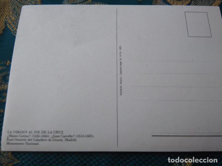 Postales: POSTAL SEMANA SANTA - virgen al pie de la cruz - Foto 2 - 84229548