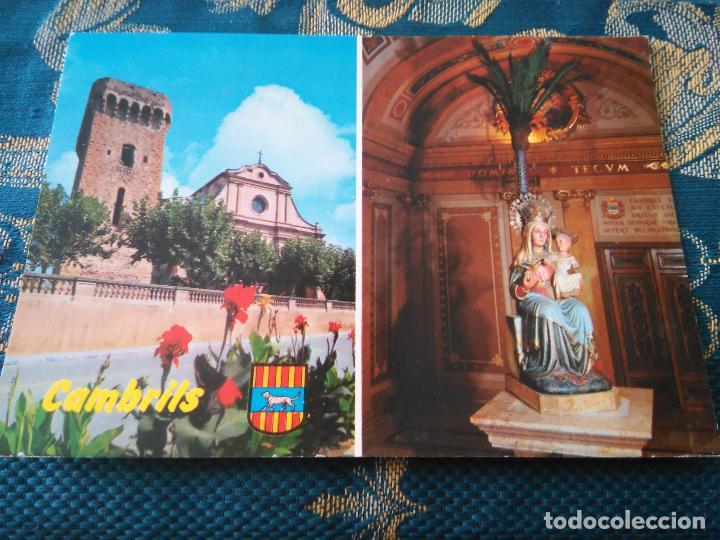 POSTAL SEMANA SANTA - VIRGEN DE CAMBRILS TARRAGONA (Postales - Postales Temáticas - Religiosas y Recordatorios)