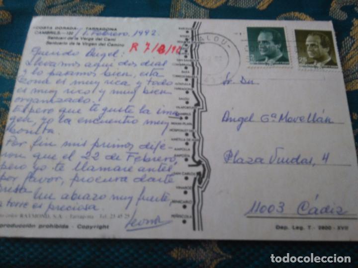 Postales: POSTAL SEMANA SANTA - virgen de cambrils tarragona - Foto 2 - 84231880