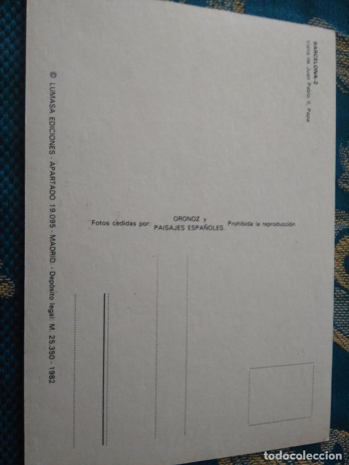 Postales: POSTAL SEMANA SANTA - virgen de montserrat visita papa juan pablo segundo ii - Foto 2 - 84232116
