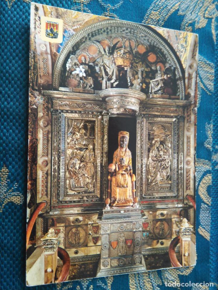 POSTAL SEMANA SANTA - VIRGEN DE MONTSERRAT (Postales - Postales Temáticas - Religiosas y Recordatorios)