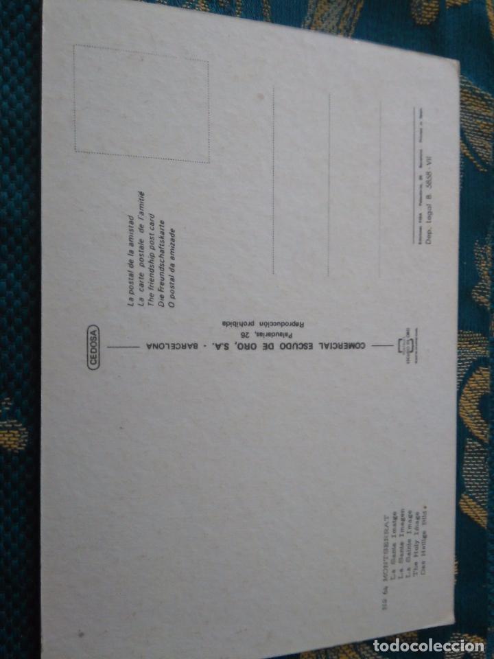 Postales: POSTAL SEMANA SANTA - virgen de montserrat - Foto 2 - 84232376