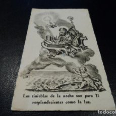 Postales: SAN AGUSTIN OBISPO CONFESOR Y DOCTOR 10,5 X 6 CM LA MILAGROSA. Lote 84392948