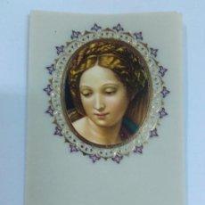 Postales - Estampita sin imprimir de Virgen. 14 unidades - 84411044