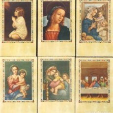 Postales: LOTE DE 6 ESTAMPAS RELIGIOSAS. ESTAMPA. Lote 85138528