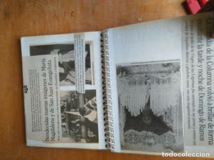 Postales: ANTIGUO ALBUM DE COLECCIONISTA ., RECORTES DE PRENSA SEMANA SANTA SAN FERNANDO CADIZ VIRGEN CRISTO - Foto 10 - 85720000