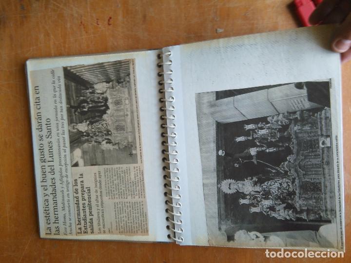 Postales: ANTIGUO ALBUM DE COLECCIONISTA ., RECORTES DE PRENSA SEMANA SANTA SAN FERNANDO CADIZ VIRGEN CRISTO - Foto 12 - 85720000