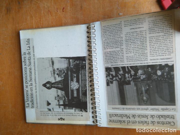Postales: ANTIGUO ALBUM DE COLECCIONISTA ., RECORTES DE PRENSA SEMANA SANTA SAN FERNANDO CADIZ VIRGEN CRISTO - Foto 13 - 85720000
