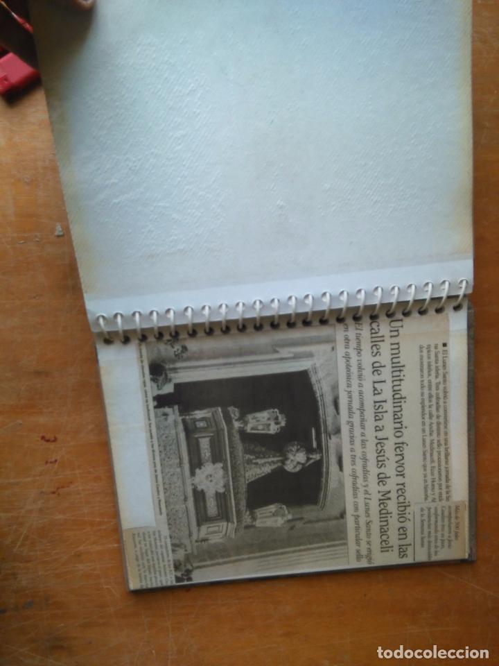 Postales: ANTIGUO ALBUM DE COLECCIONISTA ., RECORTES DE PRENSA SEMANA SANTA SAN FERNANDO CADIZ VIRGEN CRISTO - Foto 16 - 85720000