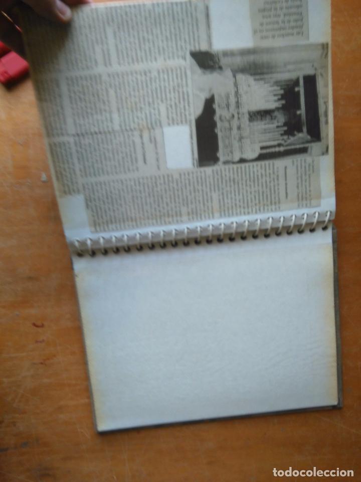 Postales: ANTIGUO ALBUM DE COLECCIONISTA ., RECORTES DE PRENSA SEMANA SANTA SAN FERNANDO CADIZ VIRGEN CRISTO - Foto 17 - 85720000