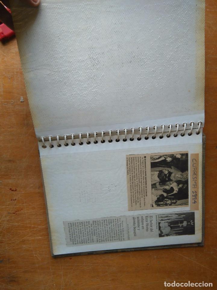 Postales: ANTIGUO ALBUM DE COLECCIONISTA ., RECORTES DE PRENSA SEMANA SANTA SAN FERNANDO CADIZ VIRGEN CRISTO - Foto 18 - 85720000