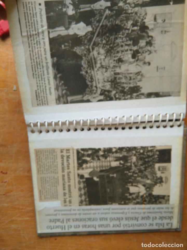 Postales: ANTIGUO ALBUM DE COLECCIONISTA ., RECORTES DE PRENSA SEMANA SANTA SAN FERNANDO CADIZ VIRGEN CRISTO - Foto 19 - 85720000