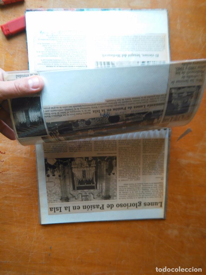 Postales: ANTIGUO ALBUM DE COLECCIONISTA ., RECORTES DE PRENSA SEMANA SANTA SAN FERNANDO CADIZ VIRGEN CRISTO - Foto 22 - 85720000