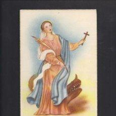 Postales: POSTAL RELIGIOSA. SANTA MARGARITA. Lote 85889088