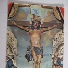 Postales: POSTAL SANTISIMO CRISTO DE LA AGONIA - LIMPIAS - CANTABRIA - 1964 - CIRCULADA. Lote 85923368