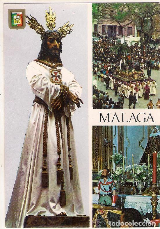 -30915 POSTAL SEMANA SANTA MALAGA, NUESTRO PADRE JESUS CAUTIVO, RELIGIOSA (Postales - Postales Temáticas - Religiosas y Recordatorios)