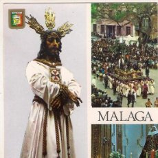 Postales: -30915 POSTAL SEMANA SANTA MALAGA, NUESTRO PADRE JESUS CAUTIVO, RELIGIOSA. Lote 86174016