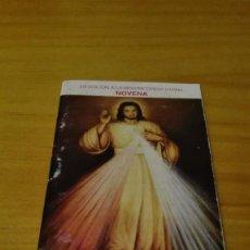 Postales: NOVENA A LA MISERICORDIA DIVINA . Lote 86509668