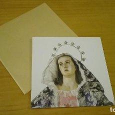 Postales: RECUERDO CORONACIÓN CANONICA VIRGEN DE LA DOLOROSA DE SALZILLO. Lote 86511332