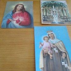 Postales: LOTE ESTAMPAS RELIGIOSAS. Lote 86611748