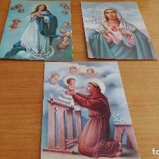 Postales: LOTE ESTAMPAS RELIGIOSAS. Lote 86611952
