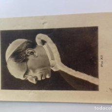 Postales: PIO XII-OBRA PONTIFICIA FOMENTO VOCACIONES SACERDOTALES DIOCESIS TARAZONA-ZARAGOZA-1940-INSCRIPCIO. Lote 86648444