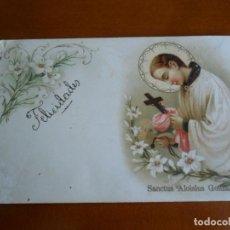 Postales: TARJETA POSTAL RELIGIOSA PRINCIPIOS DEL SIGLO XX - ESCRITA. Lote 86674876