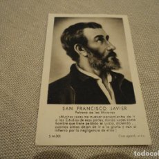 Postales: SAN FRANCISCO JAVIER IMPOSICION DEL CRUCIFIJO DE MISIONERO A VICENTE FERRER MONCHO Y OTROS 1952. Lote 86960048