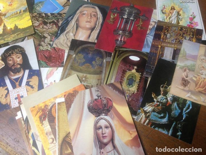 Postales: COLECCION POSTALES RELIGIOSAS ANTIGUAS IGLESIA VIRGEN - Foto 3 - 87167684
