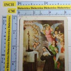 Postales: RECUERDO RELIGIOSO. NOVENA A SANTA RITA DE CASIA. Lote 87967152
