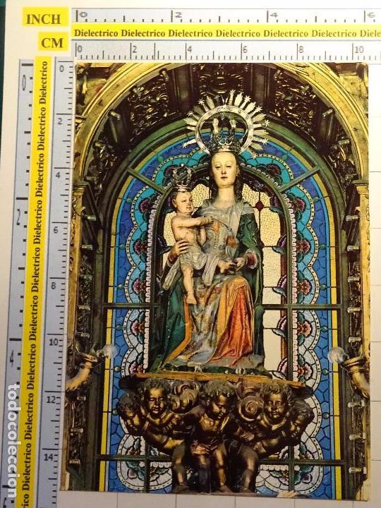 POSTAL RELIGIOSA SEMANA SANTA. AÑO 1968. SANTA MARÍA LA MAYOR, PATRONA BURGOS Y BRIVIESCA. 982 (Postales - Postales Temáticas - Religiosas y Recordatorios)