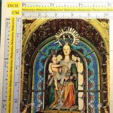 Postales: POSTAL RELIGIOSA SEMANA SANTA. AÑO 1968. SANTA MARÍA LA MAYOR, PATRONA BURGOS Y BRIVIESCA. 982. Lote 87977468