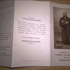 Postales: CASIMIRO BARELLO. ESTAMPA. VALENCIA 1928. Lote 88319008