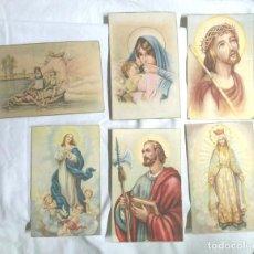 Postales: 6 POSTALES RELIGIOSAS AÑOS 50, NO CIRCULADAS. Lote 89369964