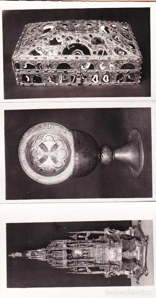 Postales: EXPOSICIÓN NAC.DE ARTE EUCARÍSTICO ANTIGUO. 1952 - Foto 3 - 90108480
