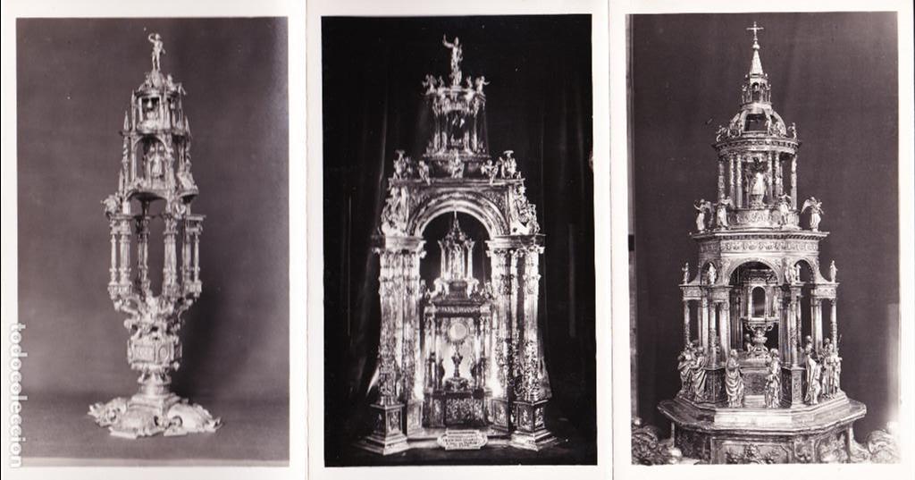 Postales: EXPOSICIÓN NAC.DE ARTE EUCARÍSTICO ANTIGUO. 1952 - Foto 5 - 90108480